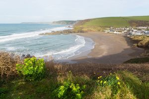 fotolia/challaborough coast south devon england uk near